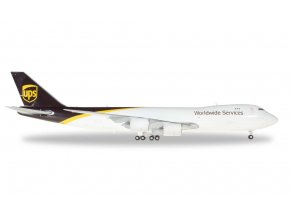Herpa - Boeing B747-8F, UPS Worldwide Services, USA, 1/200