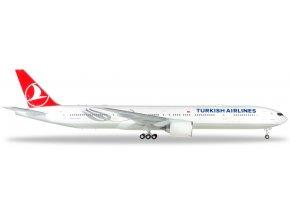 Herpa - Boeing B777-300ER, dopravce Turkish Airlines, Turecko, 1/200