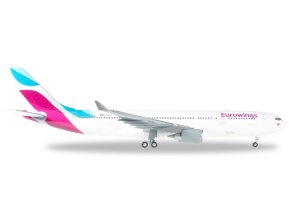 Herpa - Airbus A330-200, společnost Eurowings, Německo,1/200