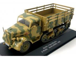 Eaglemoss - Sd.Kfz.3 Opel Maultier, Wehrmacht, 4. Pz.Div., Kursk, 1943, 1/43
