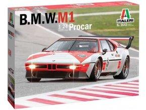 Italeri - BMW M1 Pro Car, Model Kit 3643, 1/24