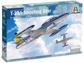 Italeri - Lockheed T-33A Shooting Star, Model Kit 1444, 1/72