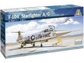 Italeri - Lockheed F-104A/C Starfighter, Model Kit 2515, 1/32