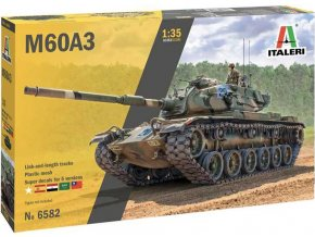 Italeri - M60A3 Patton, Model Kit 6582, 1/35