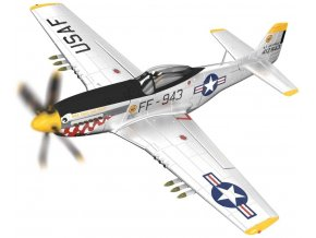 Corgi - North American P-51D Mustang, USAF, 'Was that too fast?', jižní korea, 1951, 1/72