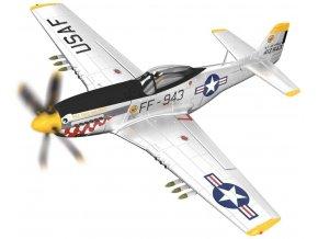Corgi - North American P-51D Mustang, USAF, 'Was that too fast?', jižní korea, 1951, 1/72