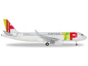 Herpa - Airbus A320, společnost TAP Air Portugal, Portugalsko, 1/200