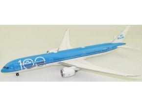 Herpa - Boeing B787-10, společnost KLM, výroční zbarvení, Nizozemí, 1/200