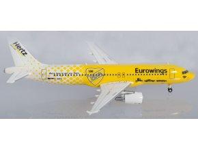 """Herpa - Airbus A320, společnost Eurowings, """"Hertz 100 Jahre"""", Německo, 1/200"""