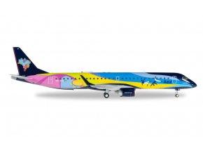 Herpa - Embraer ERJ-195AR, společnost Azul Linhas Aereas, Brazílie, 1/200
