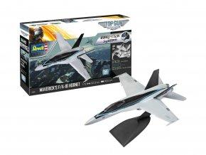 "Revell - McDonnell Douglas F/A-18 Hornet, USAF, Maverick's ""Top Gun"", EasyClick ModelSet 64965, 1/72"