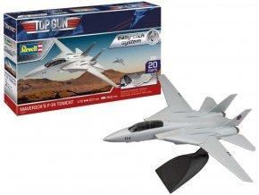 "Revell - Grumman F-14 Tomcat, Maverick's ""Top Gun"", EasyClick ModelSet 64966, 1/72"