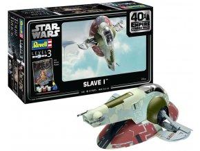 Revell - Star Wars - Slave I, Gift-Set SW 05678, 1/88