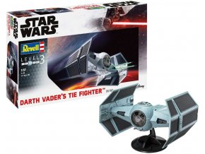 Revell - Star Wars - Darth Vader's TIE Fighter, ModelSet 66780, 1/57