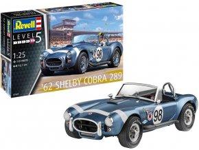 Revell - Shelby Cobra 289 '62, Plastic ModelKit 07669, 1/25