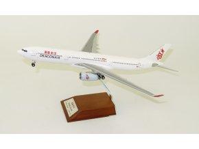 JC Wings - Airbus A330-300, společnost DragonAir, výroční zbarvení,  Hong Kong, 1/200