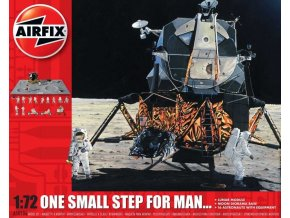 Airfix - One Step for Man 50th Anniversary of 1st Manned Moon Landing, Classic Kit A50106, 1/72