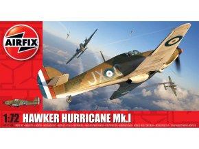 Airfix - Hawker Hurricane Mk.I, Classic Kit A01010A, 1/72