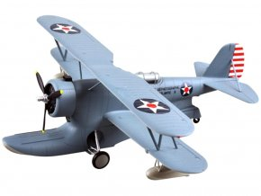 Easy Model - Grumman J2F-5 Duck, US NAVY, Fleet Air Photographic Unit Atlantic-3, 1941, 1/48