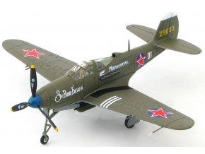 HobbyMaster - P-39N Airacobra, sovětské letectvo, Grigorii Ustinovich Dol'nikov, Německo, květen, 1945, 1/72