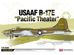 "Academy - Boeing B-17E Flying Fortress, USAAF, ""Pacific Theater"", Model Kit 12533, 1/72"