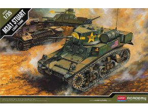 Academy - M3A1 Stuart, Model Kit 13269, 1/35