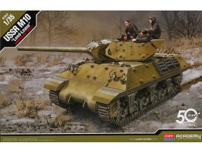 "Academy - GMC M10 Wolverine, SSSR ""Lend-Lease"", Model Kit 13521, 1/35"