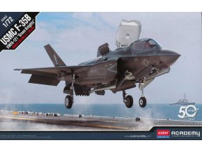 "Academy - Lockheed Martin F-35B Lightning II, USMC, VMFA-121 ""Green Knights"", Model Kit 12569, 1/72"