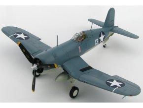 HobbyMaster - Vought F4U-1 Corsair, VMF-124, Lt. Kenneth Walsh, Munda, 1943, 1/48