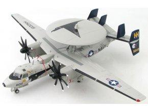 """HobbyMaster - Northrop Grumman E-2C Hawkeye, USS Nimitz, VAW-117 """"Wallbangers"""", 2008, 1/72"""