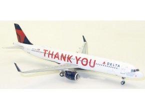 J Fox - Airbus A321-211(WL), společnost Delta Air Lines, USA, 1/200