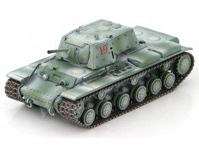 HobbyMaster - KV-1E, sovětská armáda, oblast Leningrad, 1942, 1/72