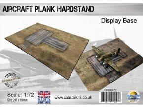 50489 wooden hardstand branding