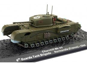 Altaya - Churchill Mk.VII, 6th Guards Tank Brigade, Normandie, 1944, 1/72