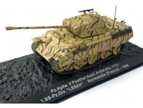 "Altaya - Pz.Kpfw.V Ausf.A Panther, 1.SS-Pz.Div.""LSSAH"", Normandie, 1944, 1/72"