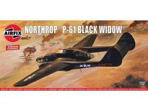 Airfix - Northrop P-61 Black Widow, Classic Kit VINTAGE A04006V, 1/72