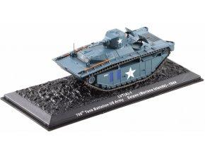 Altaya - LVT (A)-1 Alligator, US Army, 708th Tank Battalion, Saipan, 1944, 1/72