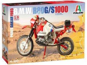 Italeri - BMW 1000, Rallye Paříž-Dakar 1985, Model Kit 4641, 1/9