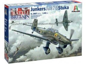 Italeri - Junkers Ju-87B Stuka, Battle of Britain 80th Anniversary, Model Kit 2807, 1/48