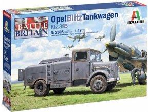 Italeri - Opel Blitz Tankwagen Kfz.385, Battle of Britain 80th Anniversary, Model Kit 2808, 1/48