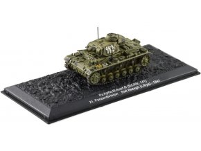 Altaya - Pz.Kpfw.III Ausf.G , 21. Panzer Div., Lybie, 1941, 1/72