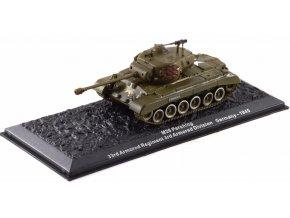 Altaya - M26 Pershing, 33rd Armored Regiment, Německo, 1945, 1/72