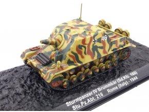 Altaya - Sd.Kfz.166 Sturmpanzer IV Brummbär, Stu.PZ.Abt.216, Itálie, 1/72