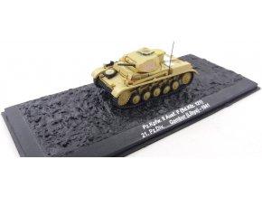 Altaya - Pz.Kpfw.II Ausf. F, 21. Panzer Div., Lybie, 1/72 - SLEVA 25%