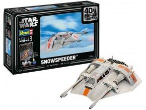 Revell - Star Wars - Snowspeeder, Gift-Set 05679, 1/29