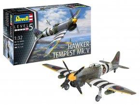 Revell - Hawker Tempest Mk.V, Plastic ModelKit 03851, 1/32