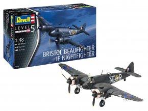 Revell - Beaufighter Mk.IF Nightfighter, Plastic ModelKit 03854, 1/48