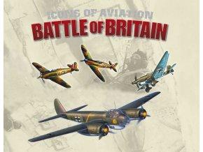 Revell - set 4 letadel Supermarine Spitfire, Hawker Hurricane, Junkers Ju 87, Junkers Ju 88, 80th Anniversary Battle of Britain, Gift-Set 05691, 1/72