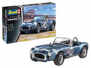Revell - AC Shelby Cobra 289, ModelSet 67669, 1/25