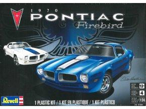 Revell - Pontiac Firebird 1970, Plastic ModelKit MONOGRAM 4489, 1/24